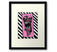MONSTER!!! Framed Print
