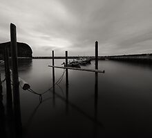 Staithes Harbour by PaulBradley
