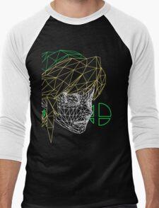 Link by Clash Threads Men's Baseball ¾ T-Shirt