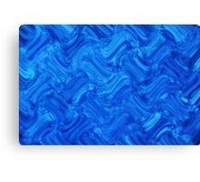 Water Crosshatch Canvas Print