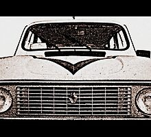 The legendary Renault 4 by orsinico