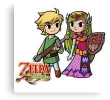 Zelda Love Canvas Print