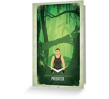 Predator / If it bleeds we can kill it! Greeting Card