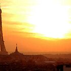 Parisian Sunset by GarfunkelArt