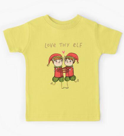 Love Thy Elf Kids Tee