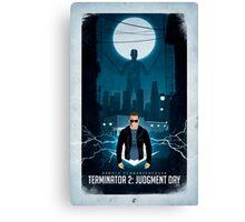 Terminator 2 / Hasta la vista baby! Canvas Print