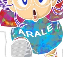 ARALE *FOIL*  Sticker