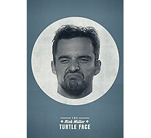 Turtle Face Photographic Print