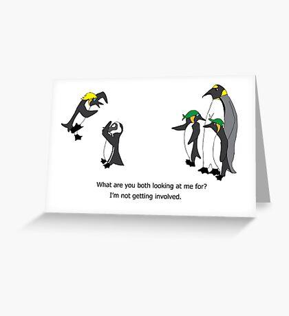 The Stargate Penguins - Episode 2 Greeting Card