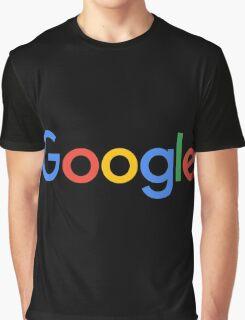 New Google Logo Graphic T-Shirt