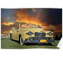 1947 Lincoln Continental Cabriolet Poster