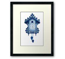 Cuckoo Clock Framed Print