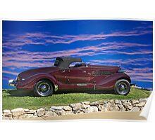 1936 Auburn 'Boat Tail' Speedster I Poster