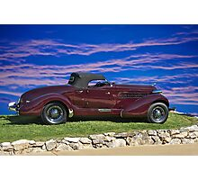 1936 Auburn 'Boat Tail' Speedster I Photographic Print