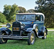 1931 Ford Model A - 400 Convertible Sedan II by DaveKoontz