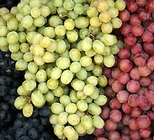 Grapes at the Market by rhamm