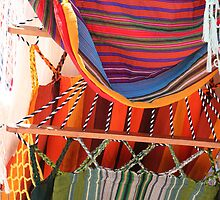 Hammocks at the Otavalo Market by rhamm