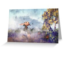 The Dragonfly Garden Greeting Card