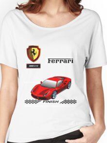 Ferrari 488 GTB I Women's Relaxed Fit T-Shirt