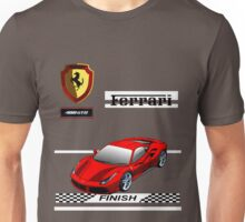 Ferrari 488 GTB I Unisex T-Shirt