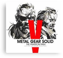 Metal Gear Solid V the Phantom Pain Canvas Print