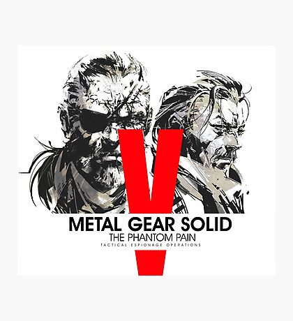 Metal Gear Solid V the Phantom Pain Photographic Print