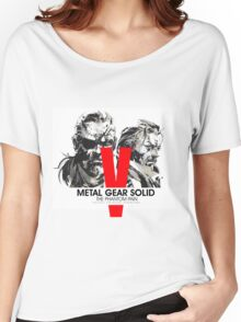 Metal Gear Solid V the Phantom Pain Women's Relaxed Fit T-Shirt