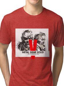 Metal Gear Solid V the Phantom Pain Tri-blend T-Shirt