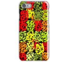 Fall Leaves Quilt iPhone Case/Skin