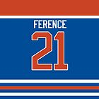Oilers Andrew Ference Jersey by jdsmdlo