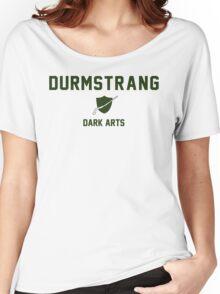 Durmstrang - Dark Arts - White Women's Relaxed Fit T-Shirt