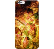 Fire and Shadow iPhone Case/Skin