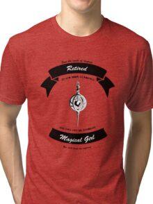 Madoka Magica Retired Magical Girl tee invert Tri-blend T-Shirt