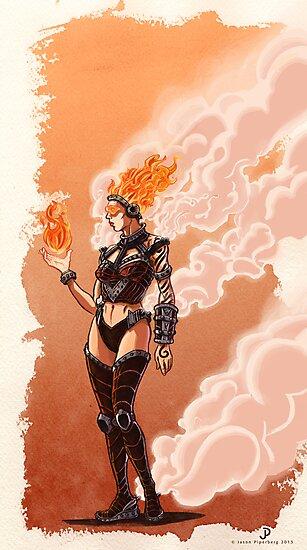 Flamestress by Jason Piperberg
