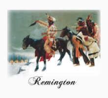 Remington - Return of the Blackfoot War Party by William Martin