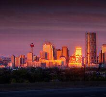 Calgary Dawn by Chad Kruger