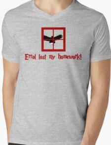 Errol lost my homework Mens V-Neck T-Shirt