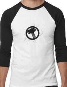 Thor's hammer Men's Baseball ¾ T-Shirt