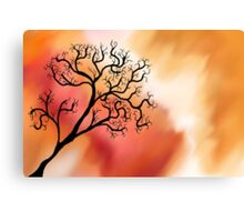 Dark Tree Canvas Print