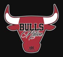 Bulls Nation '13 Season Tee by tony.Hustle.tees ®