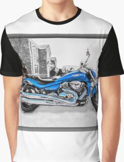 Ice Cool and Blue Graphic T-Shirt