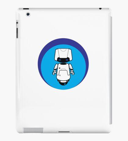 Blue Robot iPad Case/Skin