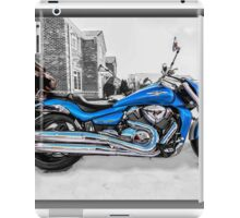 Ice Cool and Blue iPad Case/Skin