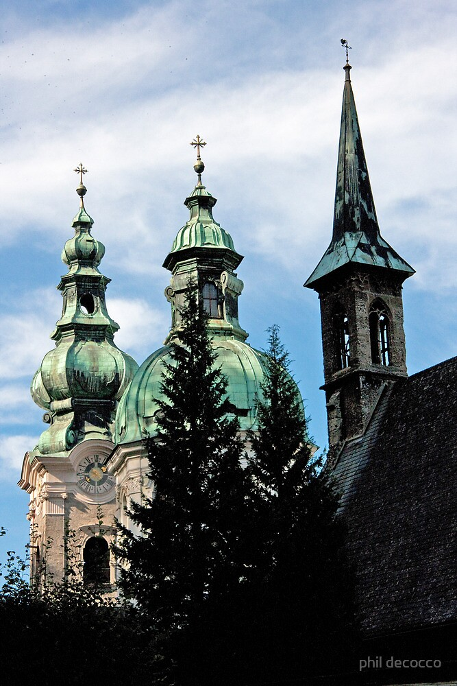 Three Steeples by phil decocco