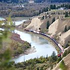 Train in the Valley by Don Arsenault