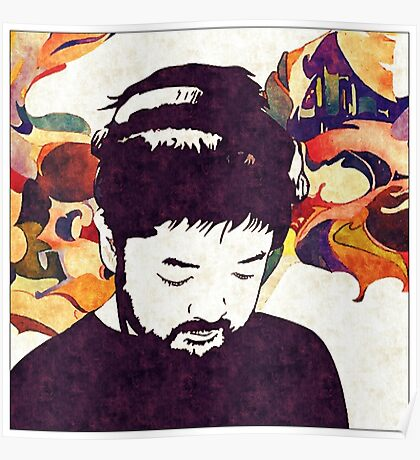 Nujabes Plain (Color) Poster