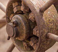 Wagon wheel ......... by Nina  Matthews Photography