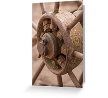 Wagon wheel ......... Greeting Card
