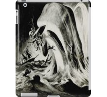 in the heart of the sea mobydick ilustration iPad Case/Skin
