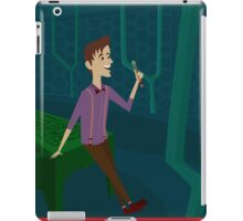 Inside The Tardis - Matt Smith iPad Case/Skin